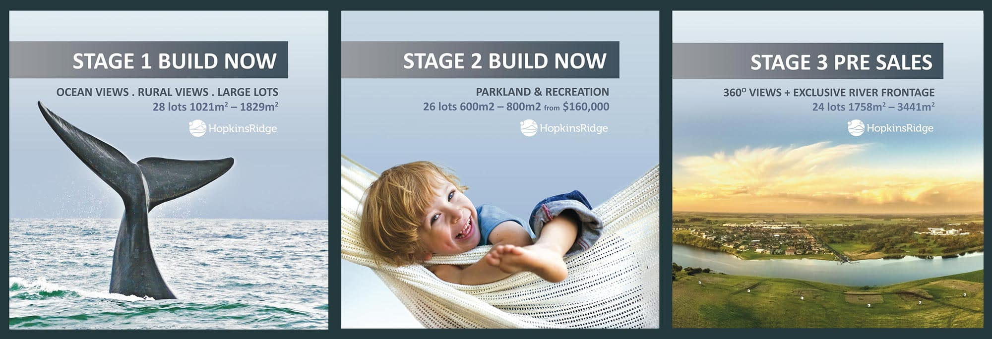 Hopkins Ridge selling stages